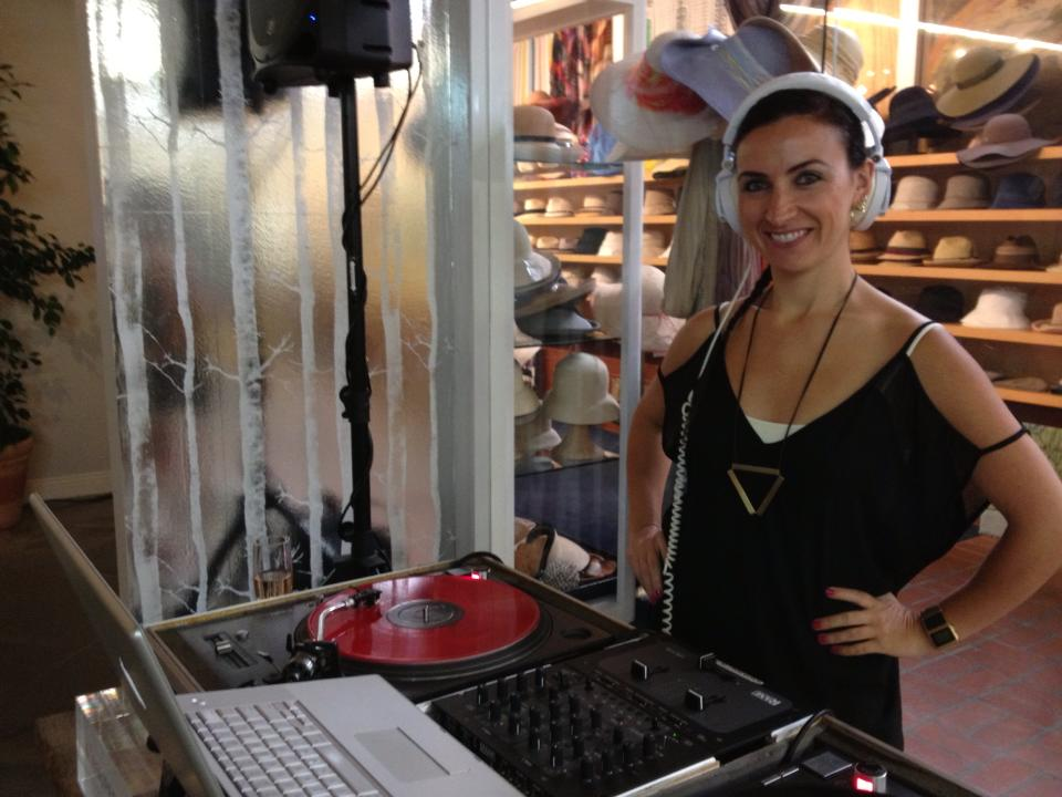 DJ Glenniest At Fred Segal Santa Monica