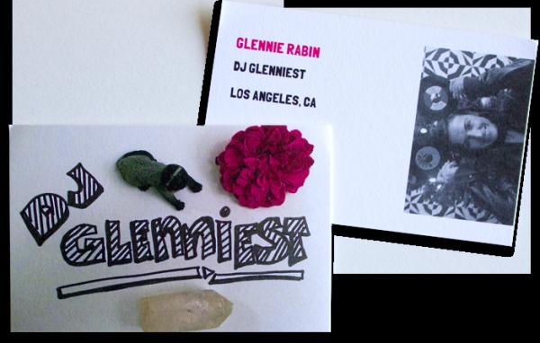 DJ Glenniest Business Cards