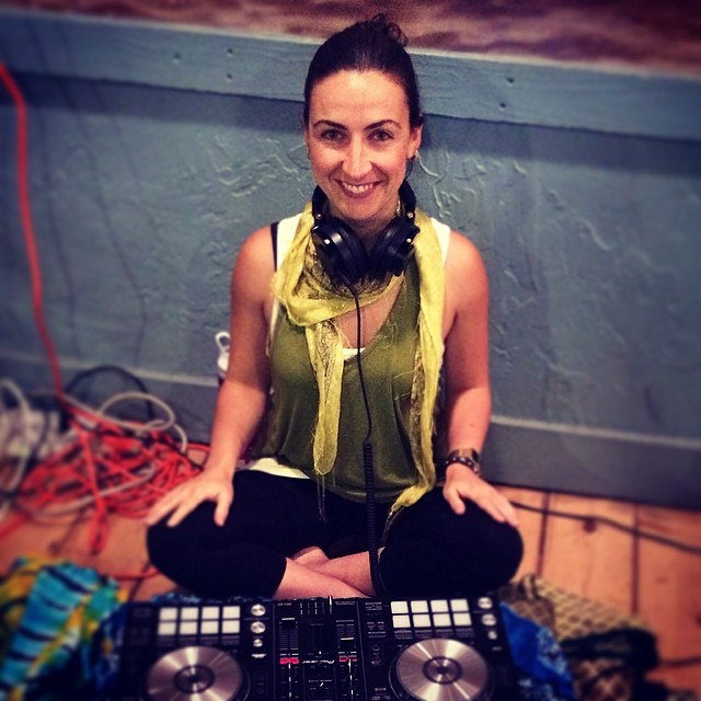 DJ Glenniest at Lululemon Event
