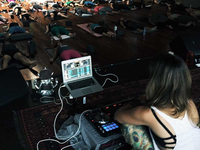 DJ Glenniest at Wanderlust Hollywood
